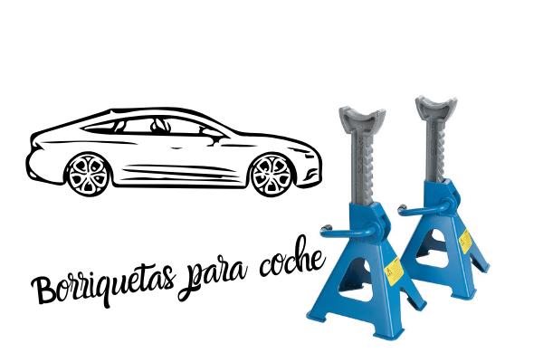Borriquetas para coche - caballetes