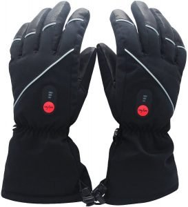 guantes calefactables moto savior